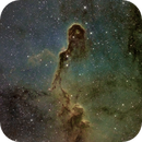 Close Up to Elephant Trunk Nebula (IC1396) HST,                                Jose Carballada