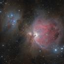 M42 Orion nebula & NGC 1977 Running Man nebula,                                  Ivan Bosnar
