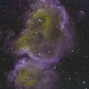 IC1871 - Soul Nebula - CFHT Palette,                                Elvie1