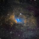 NGC7635 - Bubble Nebula in SHO,                                JD