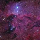 NGC 6188 - The Fighting Dragons of Ara (DSW data),                                Arun H.