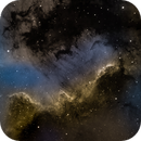 Cygnus Wall in narrowband cropped,                                Mike