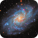 Triangulum Galaxy - Messier 33,                                Delberson