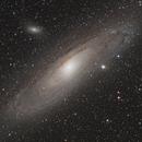 M31 Andromeda Galaxy,                                Jeff Kraehnke