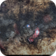 Milky Way core / M8  M20,                                Carlos 'Kiko' Fai...