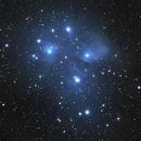 M45 - The Pleiades,                                Jeremy Wiggins