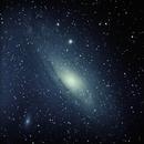 M31 Andromeda Galaxy,                                  Moleculejockey