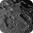 after a long abstinence, moon today.... Clavius,                                Uwe Meiling