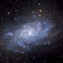 M33 The Triangulum galaxy in Triangulum,                                Moorefam
