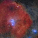Lambda Orionis Ring in HO-LRGB,                                Jim Lindelien