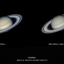 Saturn in two views,                                Conrado Serodio