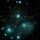The Pleiades,                                Robin Clark - EAA imager