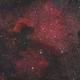 NGC7000 - Redcat 51 LRGBSHO kaleidoscope,                                Andrew Burwell