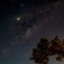 Milky Way rising in Beachmere, Brisbane,                                snursaba