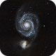 Whirlpool Galaxy (M 51) and NGC 5195,                                Michele Vonci