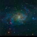 M33 triangulum,                                Piet Vanneste