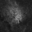 NGC 6820 - Ha,                                Eric Walden