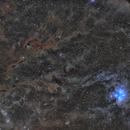 A wide field around Pleiades,                                Atsushi Ono