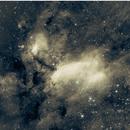 IC4628, the prawn nebula on a cold southern night.,                                Guillermo (Guy) Yanez