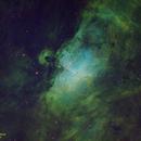 M16 Eagle Nebula using SHO Palette,                                Paul Homer