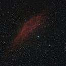 The California Nebula NGC 1499,                                Dominique Callant