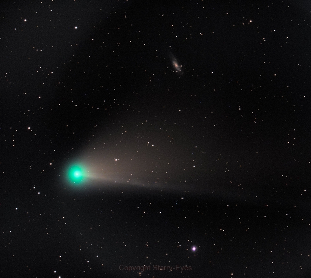 NGC 4559, Oh, and the Comet, In Coma Berenices,                                PJ Mahany
