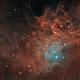 Flaming Star Nebula IC405 in Auriga -version 2,                                Arnaud Peel