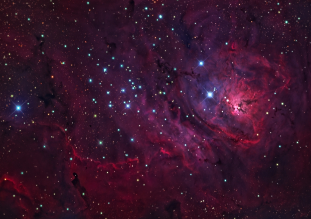 Messier 8 - The Lagoon Nebula,                                Salvatore Grasso