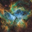 NGC 3372, nebulosa Eta Carinae (SHO),                                Aniceto Porcel