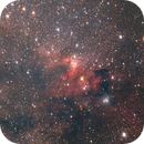 Cave Nebula (Sh2-155 and LDN1216),                                Jeff Ball