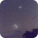 Large and Small Magellanic Clouds,                                Rick Burke