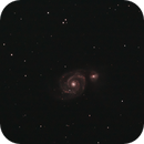 M51 - Whirlpool on a Windy Night,                                David Quattlebaum