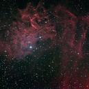 IC405 - The Flaming Star Nebula (HaRGB/SBIG ST-8300M),                                Bill Worley