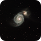 Messier 51,                    Patrick Duis