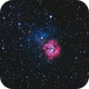 Trifid-Nebula with  Messier 21,                                Raymond Gress