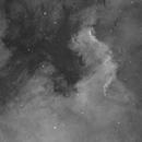 Cygnus Wall in NGC 7000,                                Chris Howard