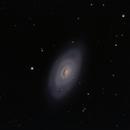 M 64 The Black Eye Galaxy,                                G400