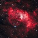 Bubble Nebula - More 'Natural' Version,                                Chuck's Astrophot...