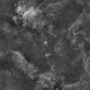 IC4628 Prawn Nebula and Dark Tower mosaic,                                ozstronomer