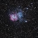 Trifid Nebulae - M20,                                Mathieu Bertholet