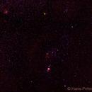 Constellation Orion,                                Hans-Peter Olschewski