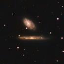 A pair of galaxies - NGC4298 and NGC4302,                                Kyle Butler