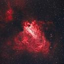 Swan Nebula,                                drivingcat