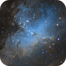 M16 - The Eagle Nebula,                                Sean van Drogen