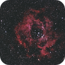Rosette Nebula NGC2237 with DSLR,                                PeterCPC