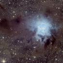The Iris Nebula,                                ks_observer