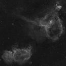 Heart and Soul Nebulae,                                Nico Carver