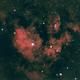 NGC7822 in HOO,                                orangemaze