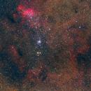 NGC6231 & IC4628 LRGB - The Tail of the Scorpion,                                andrea tasselli