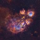 Nine Lives! NGC 6334 returns,                                Andy 01